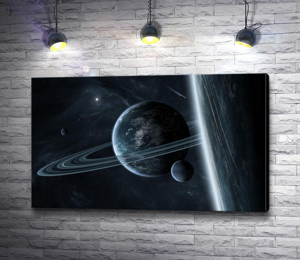 "Картина ""Кольца Сатурна"""