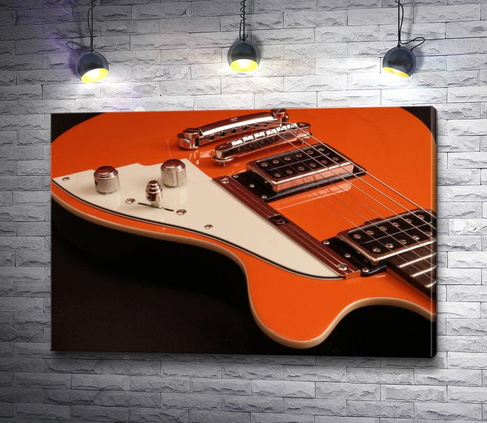 """Картина """"Оранжевая гитара"""""""