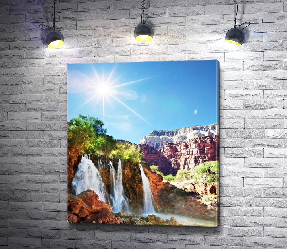 "Картина ""Звенящие водопады"""