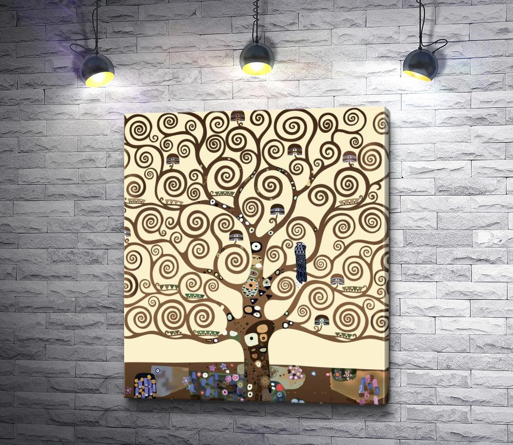 """Картина """"Густав Климт. Древо жизни. """""""