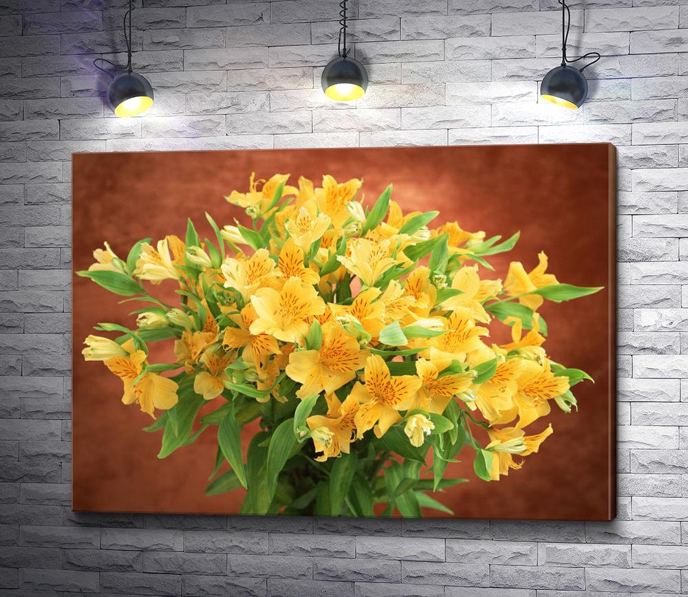 """Картина """"Букет из желтых цветов"""""""
