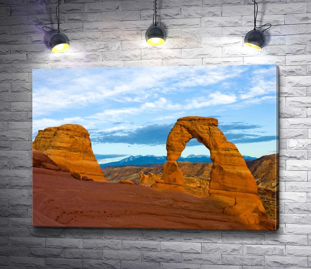 """Картина """"Изящная арка. Национальный парк Арчес. """""""