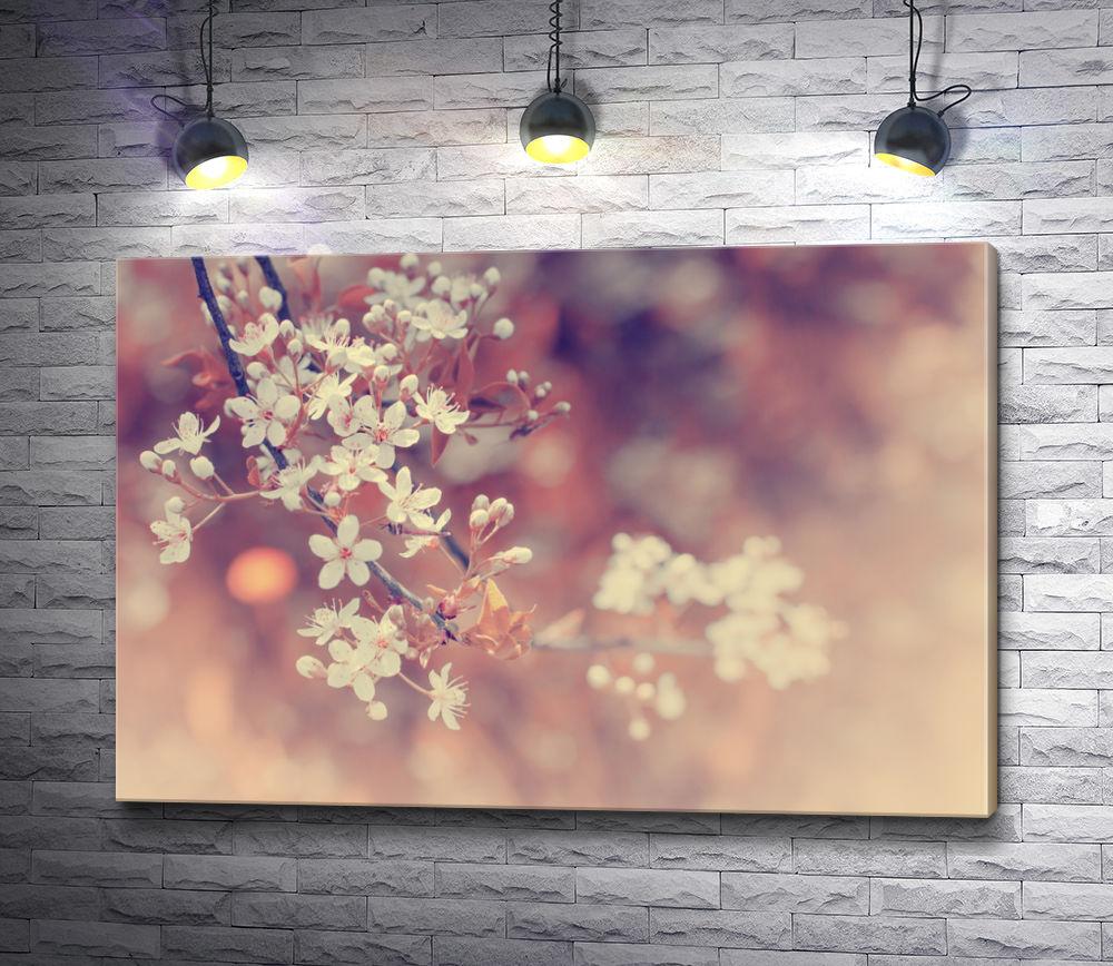 """Картина """"Цветущая ветка вишни"""""""
