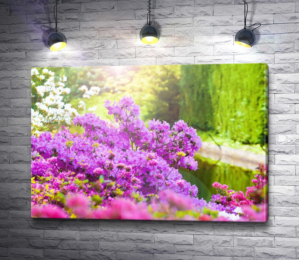 """Картина """"Цветущий весенний сад"""""""
