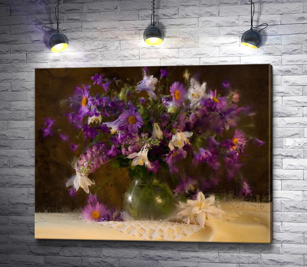 """Картина """"Натюрморт с букетом полевых цветов"""""""
