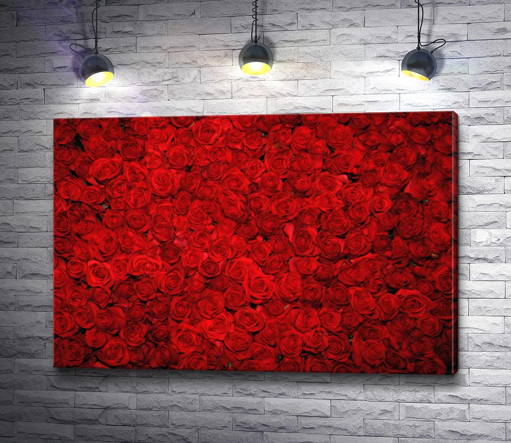 """Картина """"Романтические красные розы"""""""