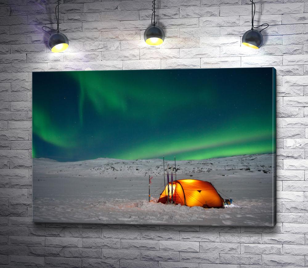 """Картина """"Северное сияние. Норвегия"""""""