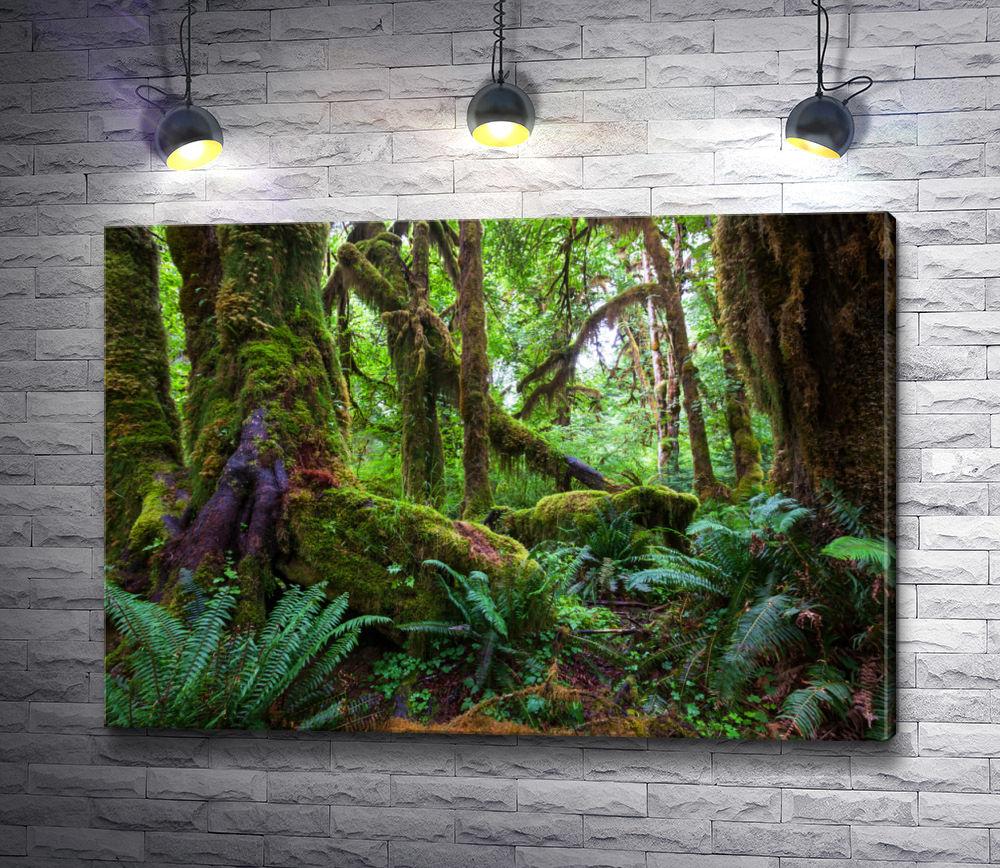 """Картина """"Дикие джунгли"""""""