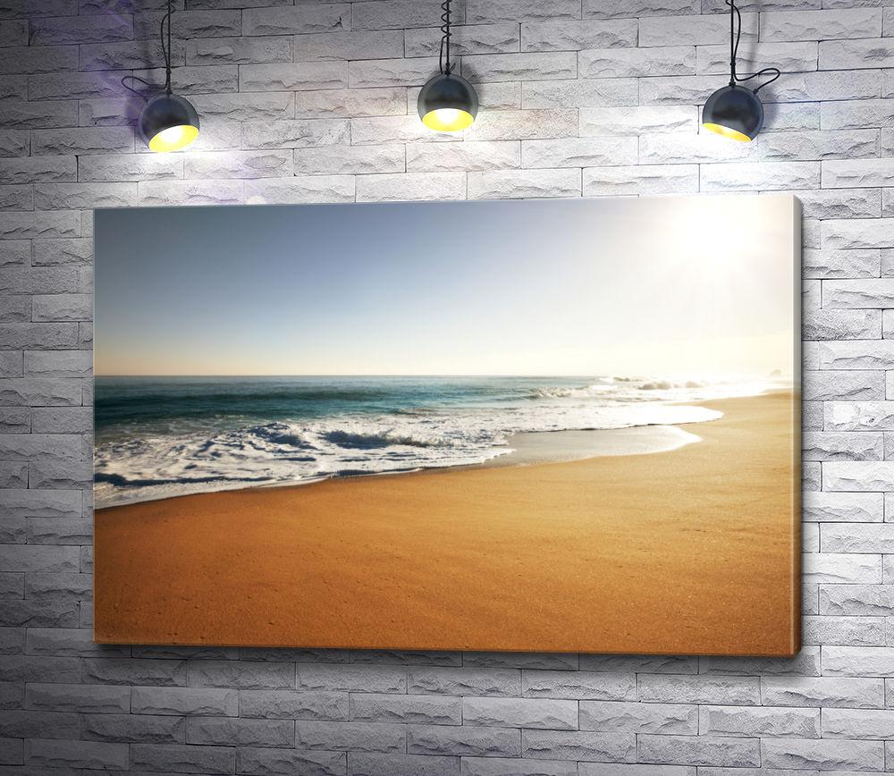 """Картина """"Песчаный берег океана"""""""