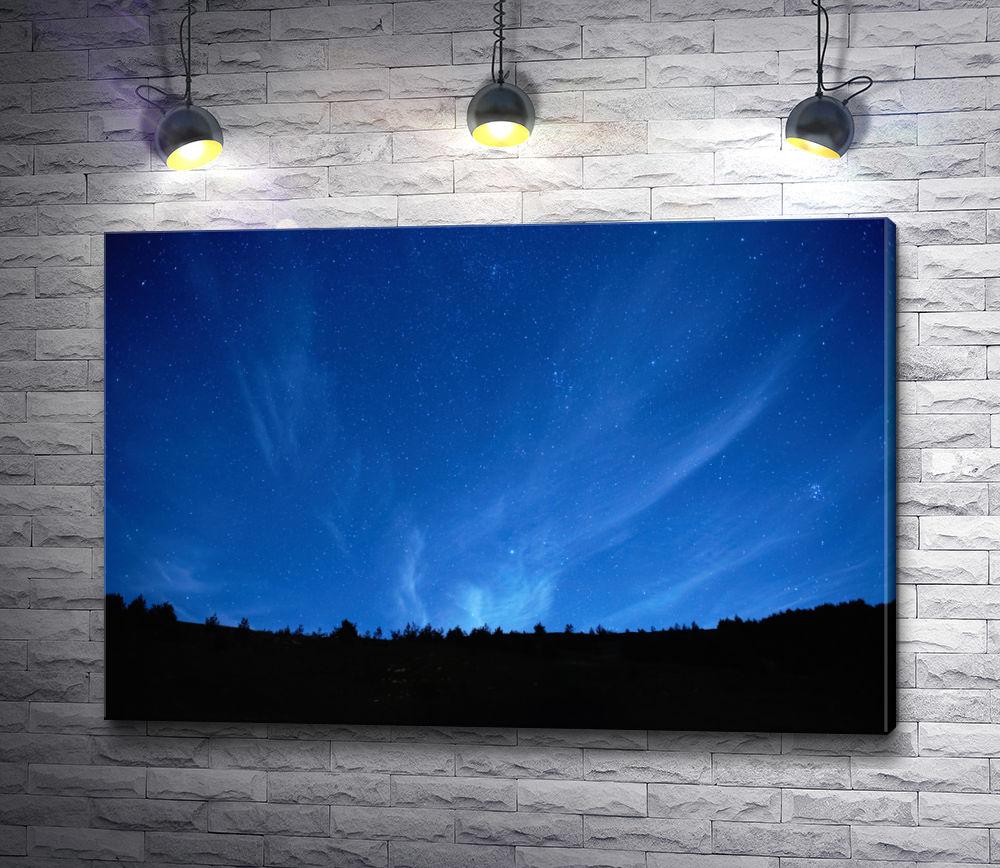 """Картина """"Сияние ночного неба"""""""