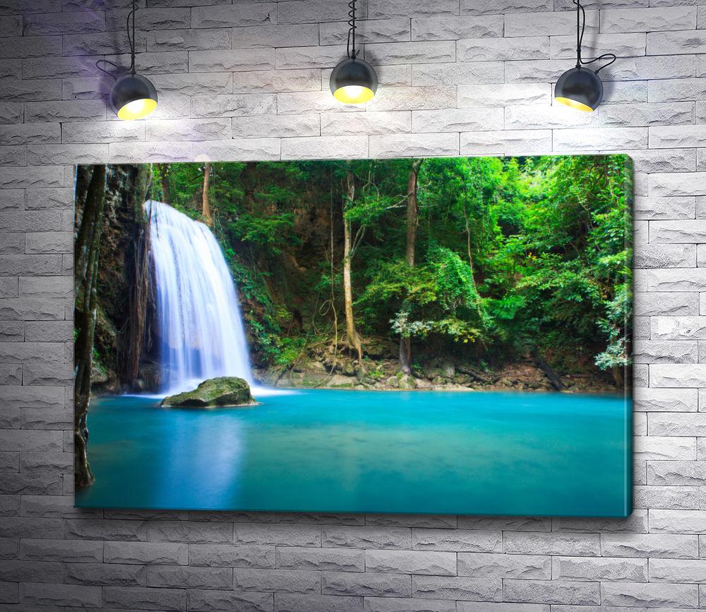 "Картина ""Водопад в провинции Канчанабури"""