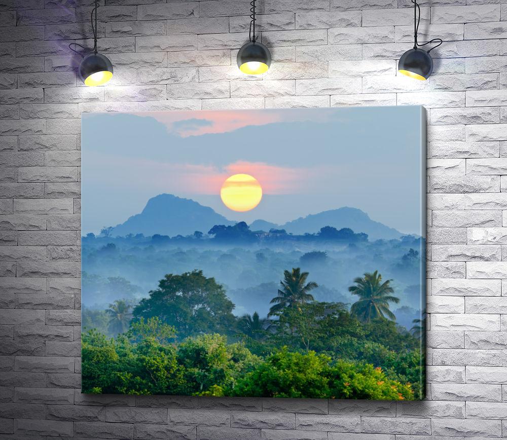 """Картина """"Диск солнца над тропиками"""""""
