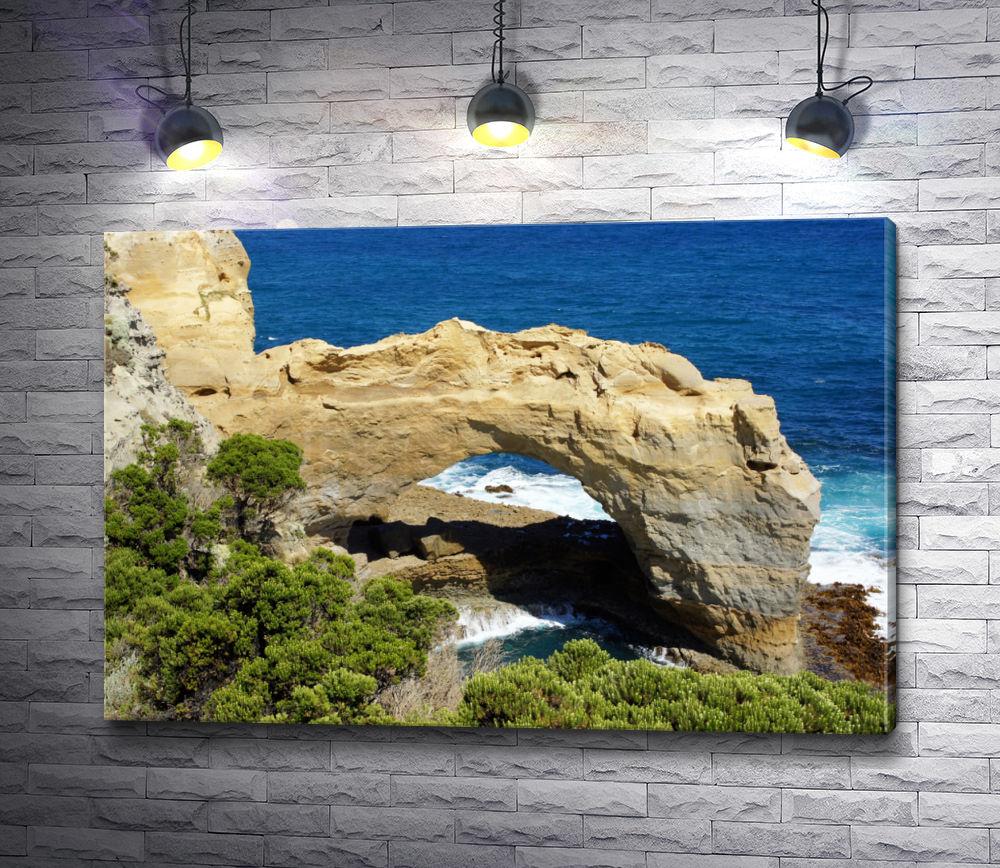 """Картина """"Каменный мост, Великая океанская дорога, Австралия"""""""