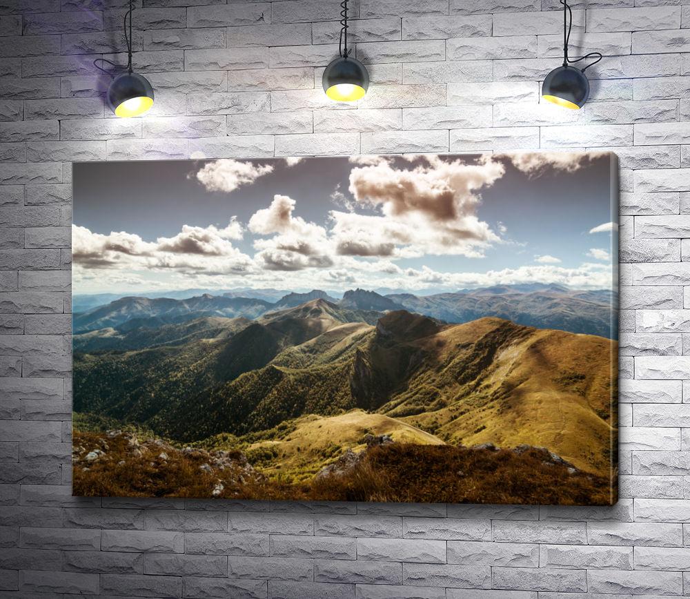 """Картина """"Живописный пейзаж в горах"""""""