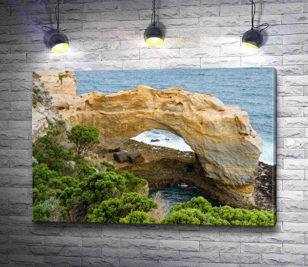 """Картина """"Арка. Знаменитые скальные образования, Большая Оушен Роуд, Виктория, Австралия"""""""
