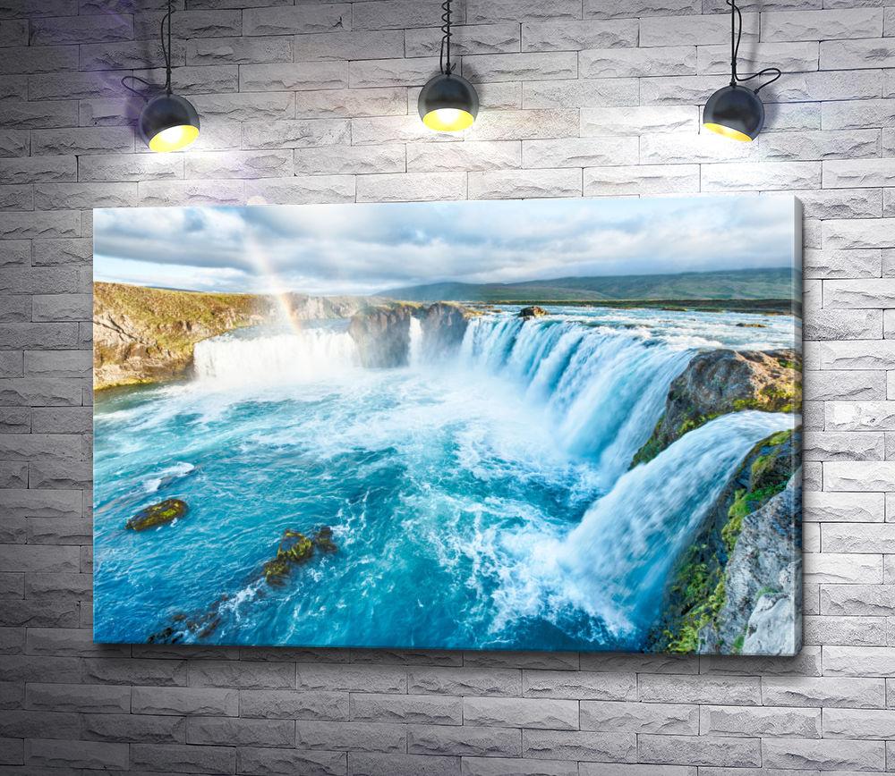 """Картина """"Радуга над водопадами """""""