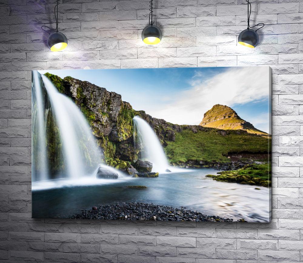 """Картина """"Завораживающие водопады Исландии"""""""