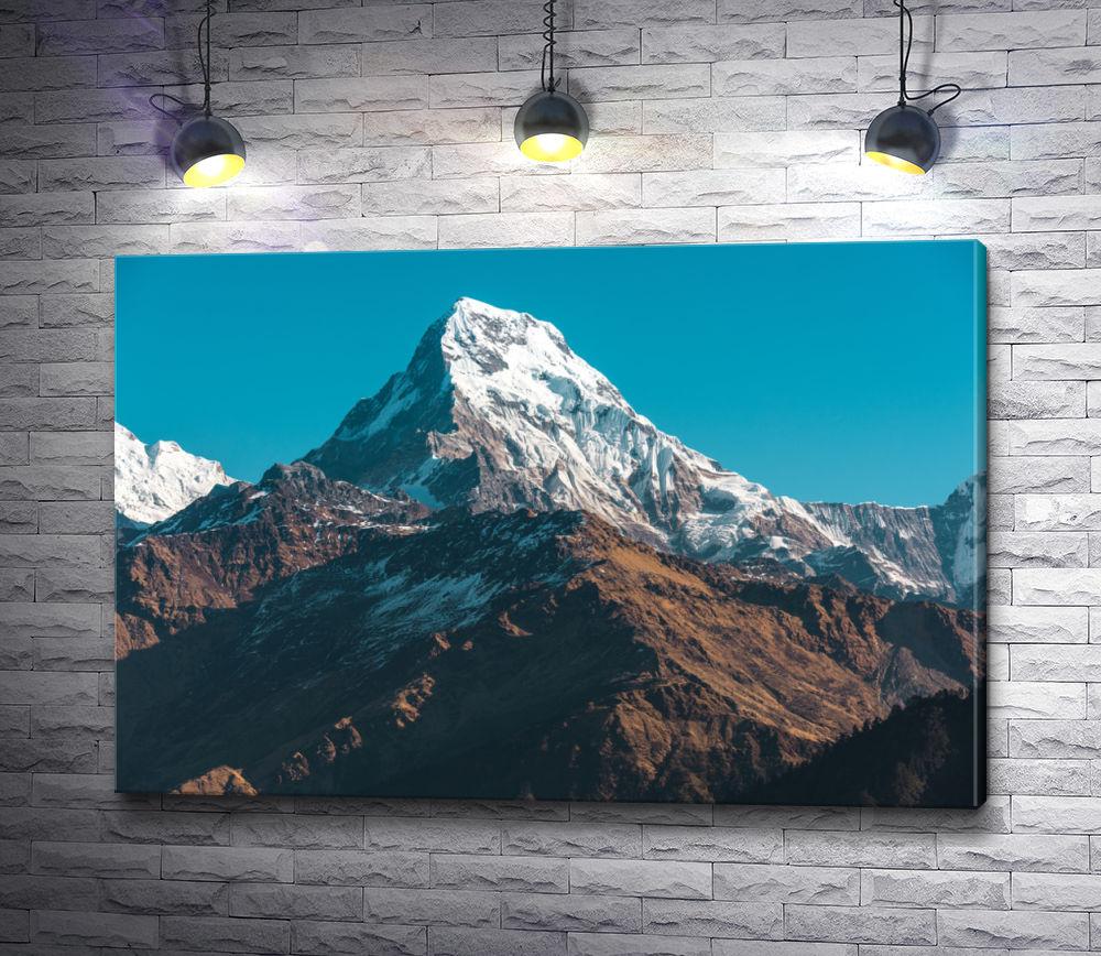 """Картина """"Заснеженная вершина горы"""""""
