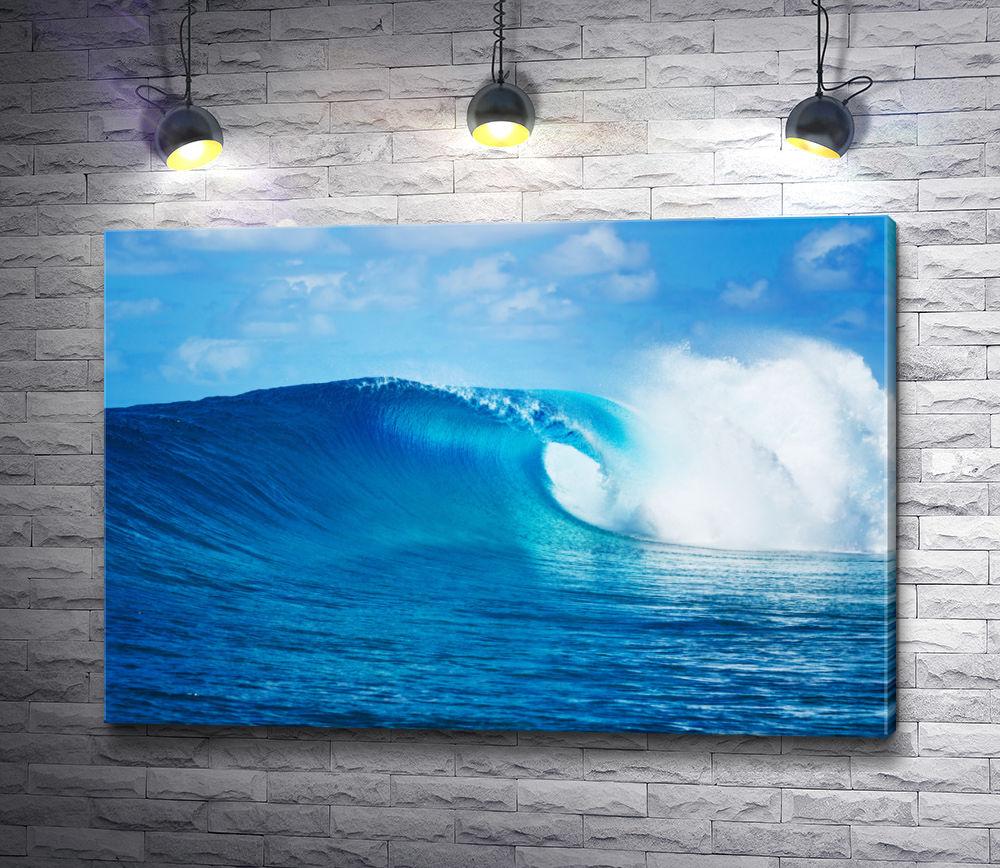 """Картина """"Набегающая волна в океане"""""""