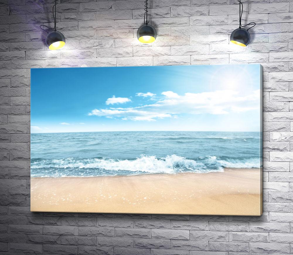 """Картина """"Солнечный день на морском побережье"""""""