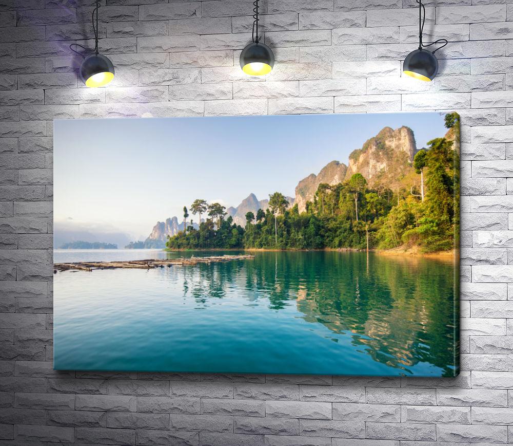 """Картина """"Солнечный день в парке Кхао Сок. Таиланд"""""""