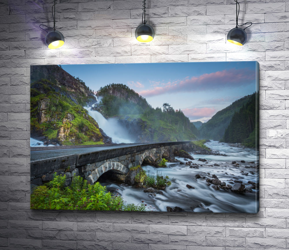 """Картина """"Мост Одда Валли, Норвегия"""""""