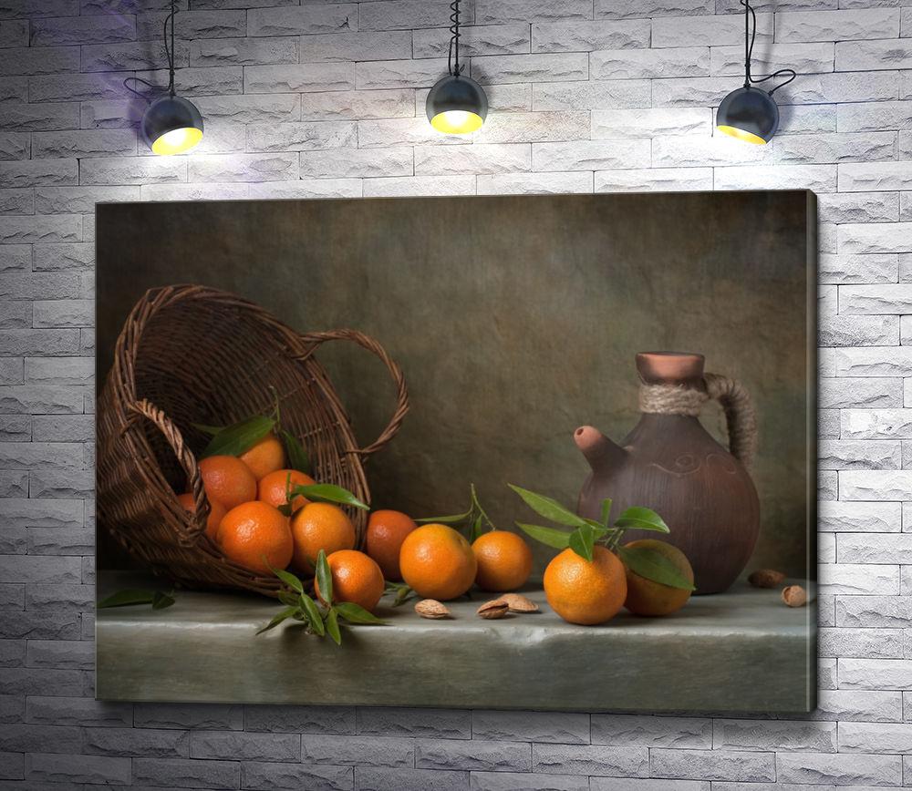 """Картина """"Натюрморт с апельсинами"""""""