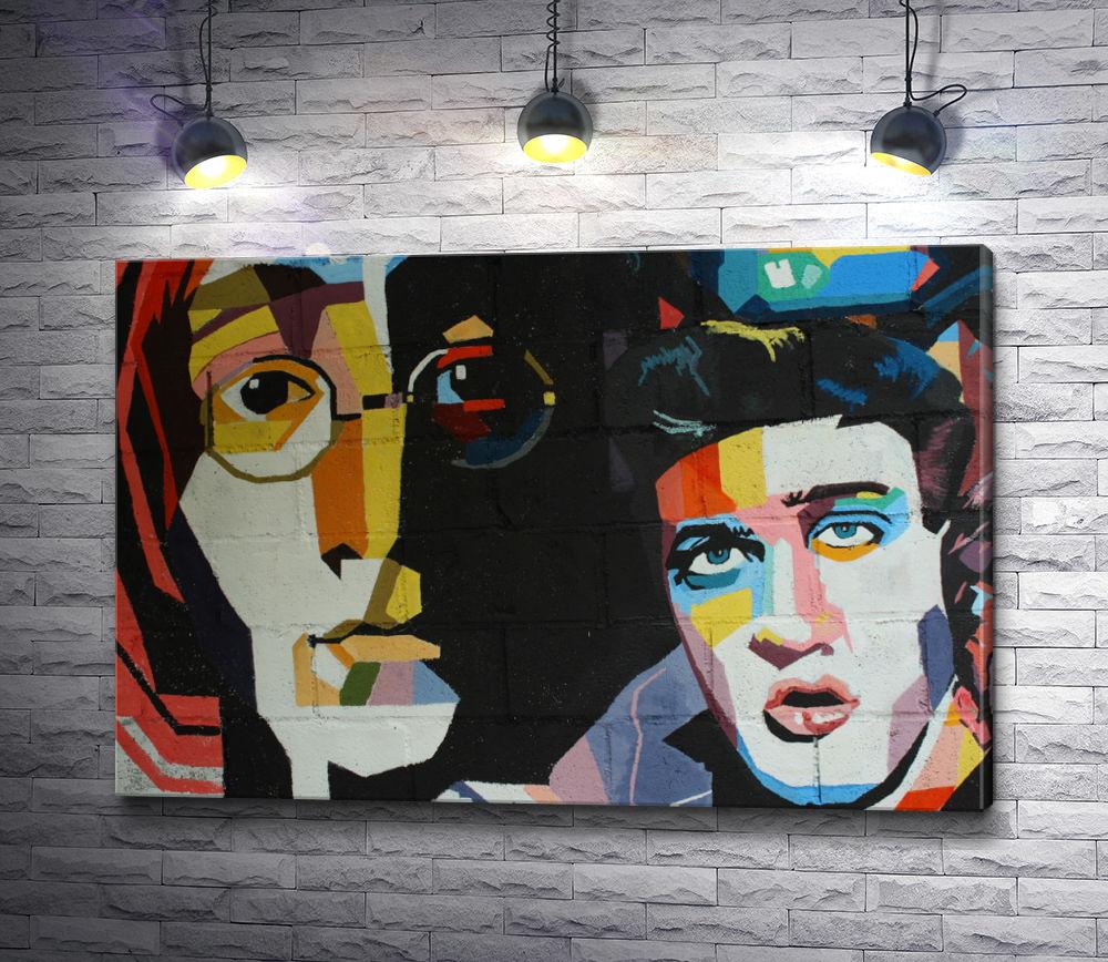 """Картина """"Рок звезды The Beatles """""""