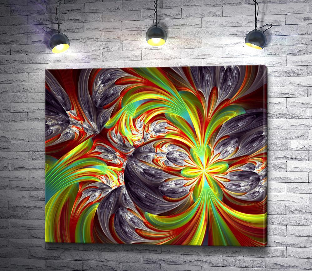 """Картина """"Разноцветный узор"""""""