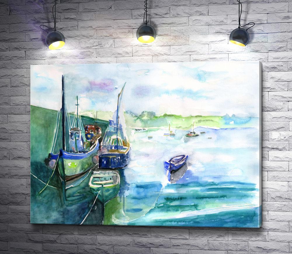 """Картина """"Морские акварели """""""