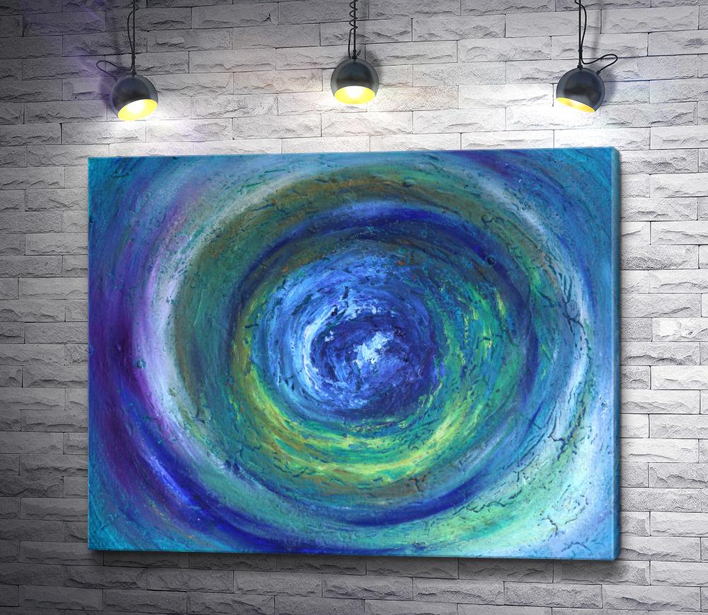 """Картина """"Голубая иллюзия """""""