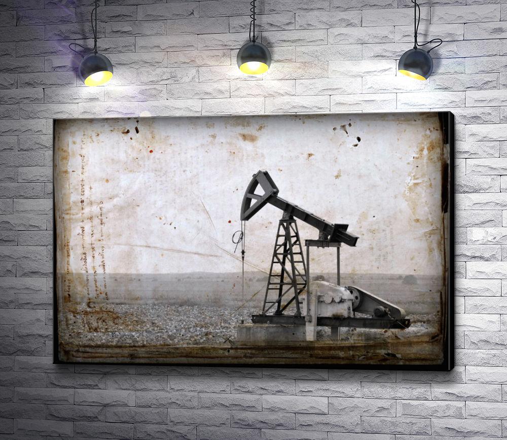"""Картина """"Нефтяная вышка """""""