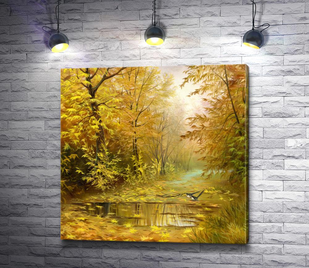 """Картина """"Осенний парк """""""
