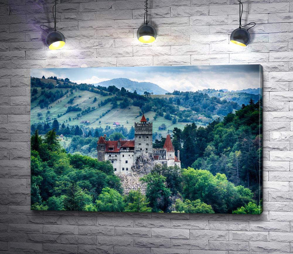 """Картина """"Замок Бран,  Румыния """""""