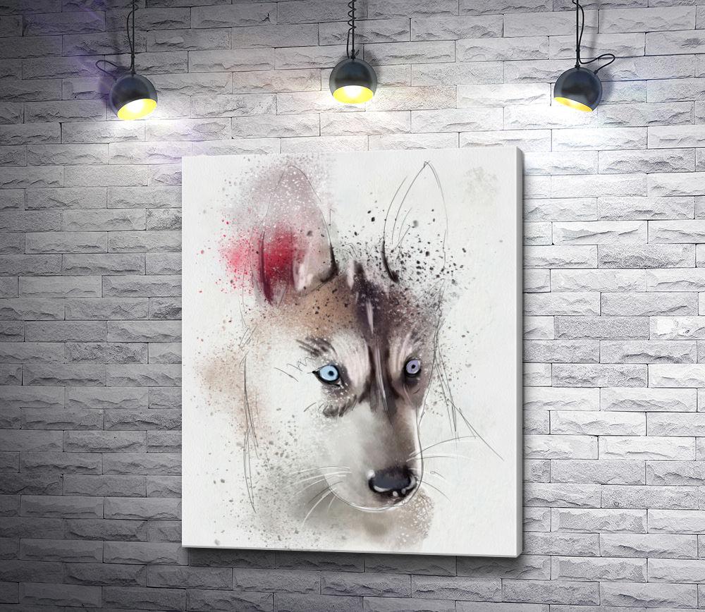 "Картина ""Красивая собака"""