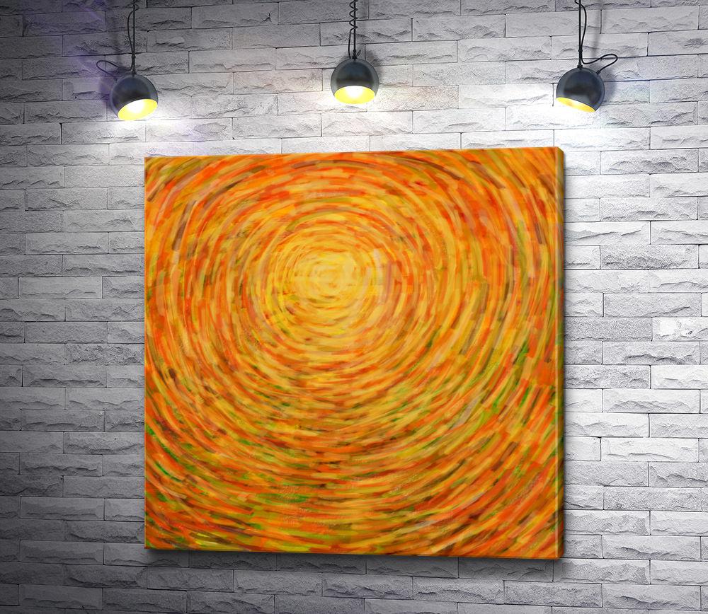 "Картина ""Сердце солнца """