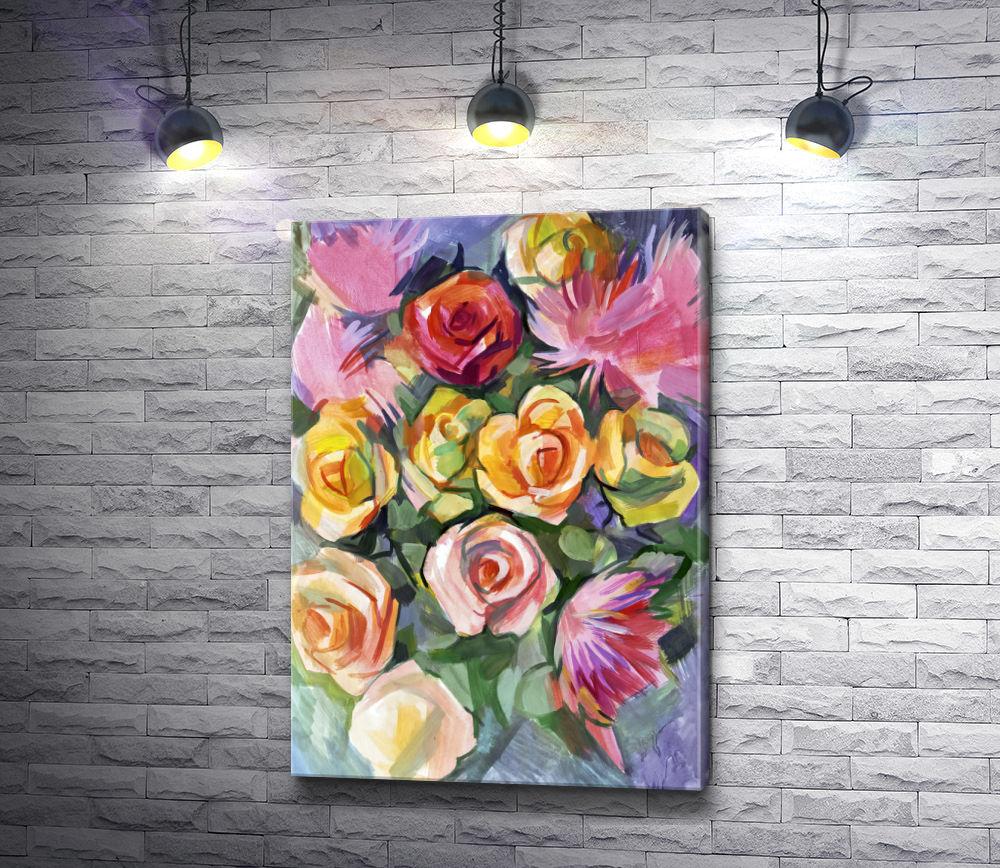 """Картина """"Букет цветов """""""
