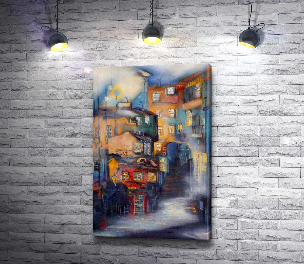 "Картина ""Краски города """