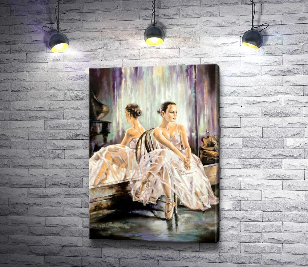 """Картина """"Балерина сидит на стуле """""""