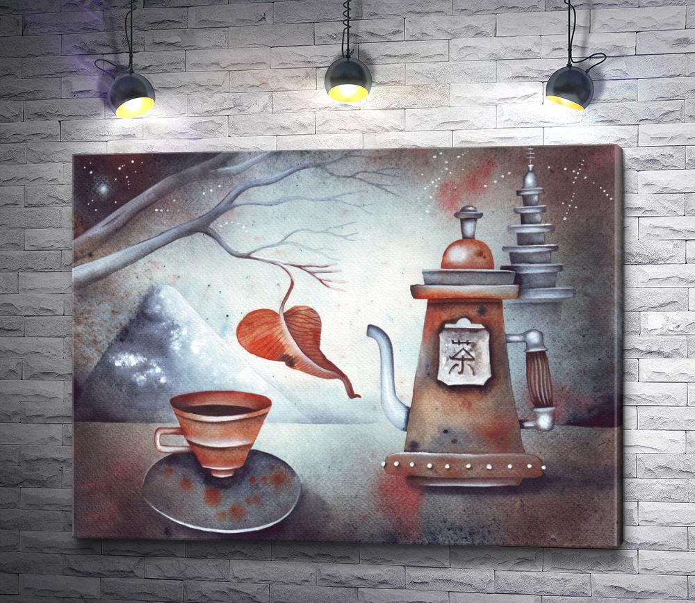 """Картина """"Чайный натюрморт """""""