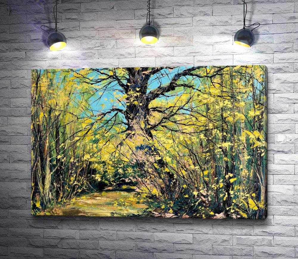 """Картина """"Осенний лес """""""