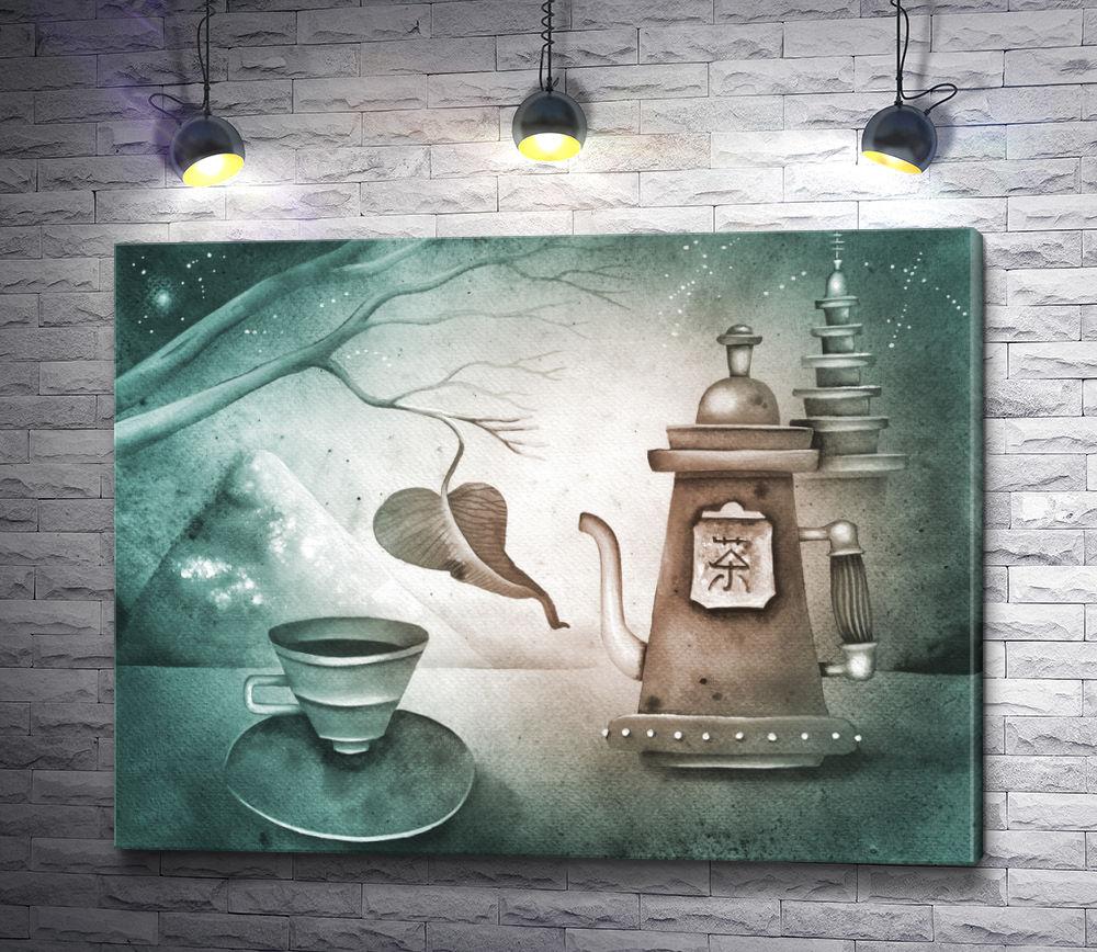 """Картина """"Чайный сервиз"""""""