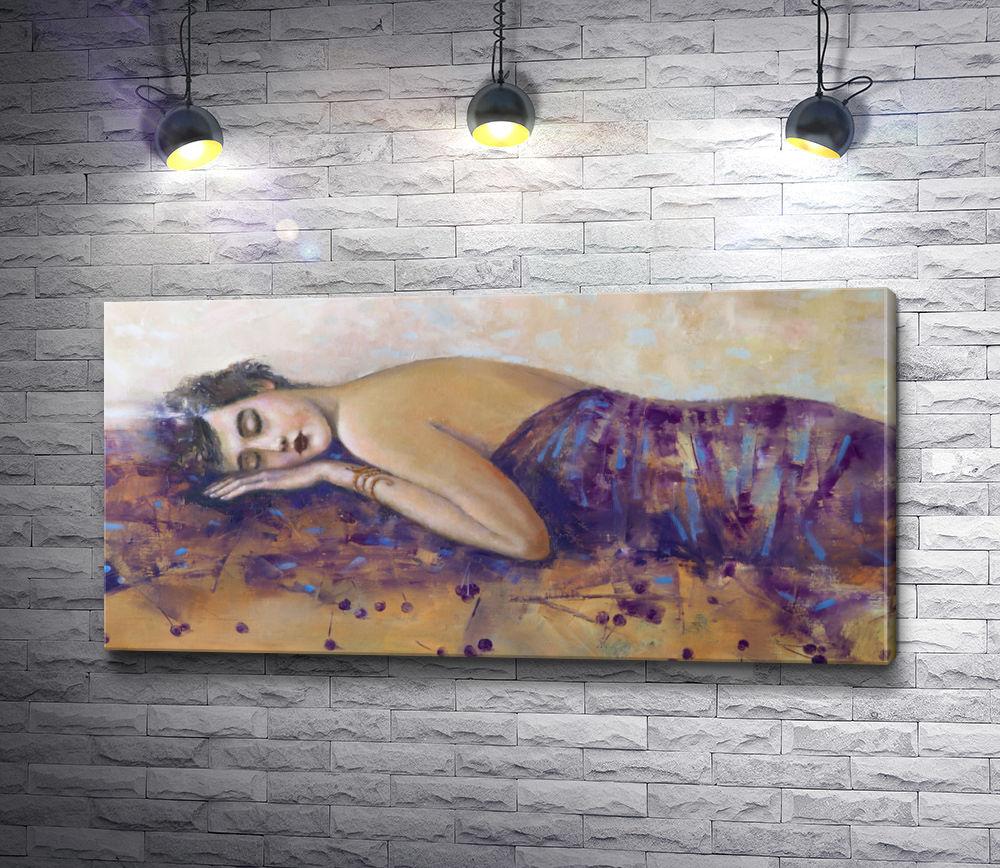 """Картина """"Лилия Кулианионак - Портрет спящей женщины """""""