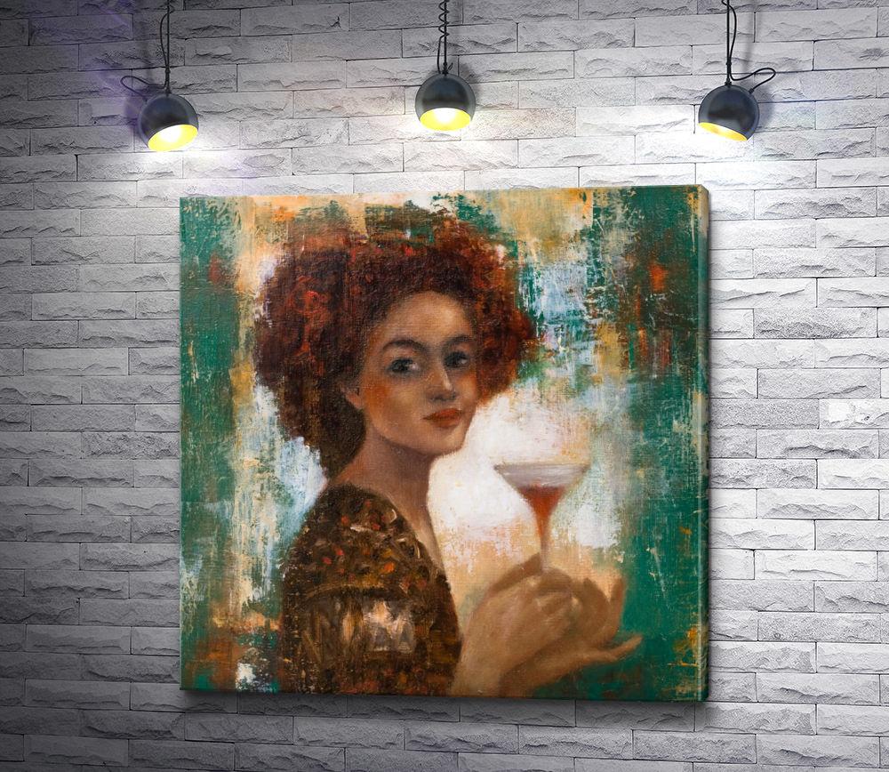 """Картина """"Лилия Кулианионак - Портрет женщины"""""""