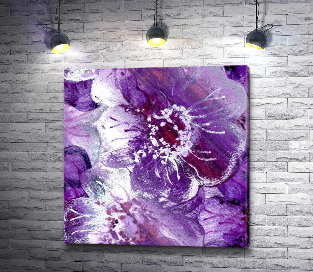 """Картина """"Сиреневые цветы"""""""