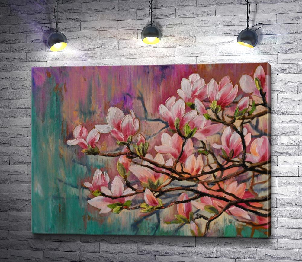 "Картина ""Ветка цветущей сакуры"""