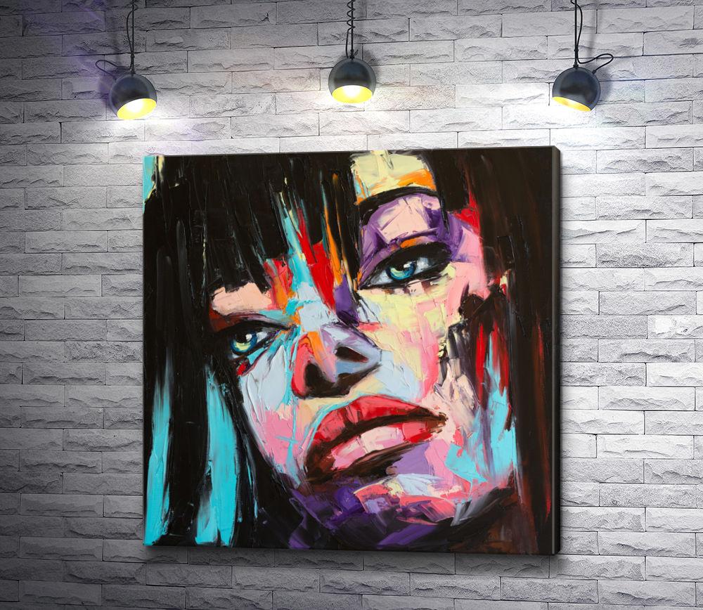 """Картина """"Портрет женщины в стиле фэнтази"""""""