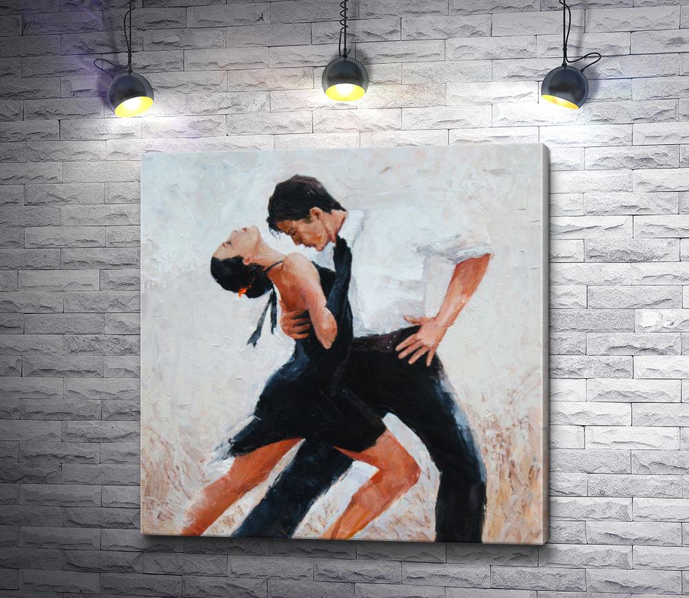 """Картина """"Пара танцует страстное танго"""""""