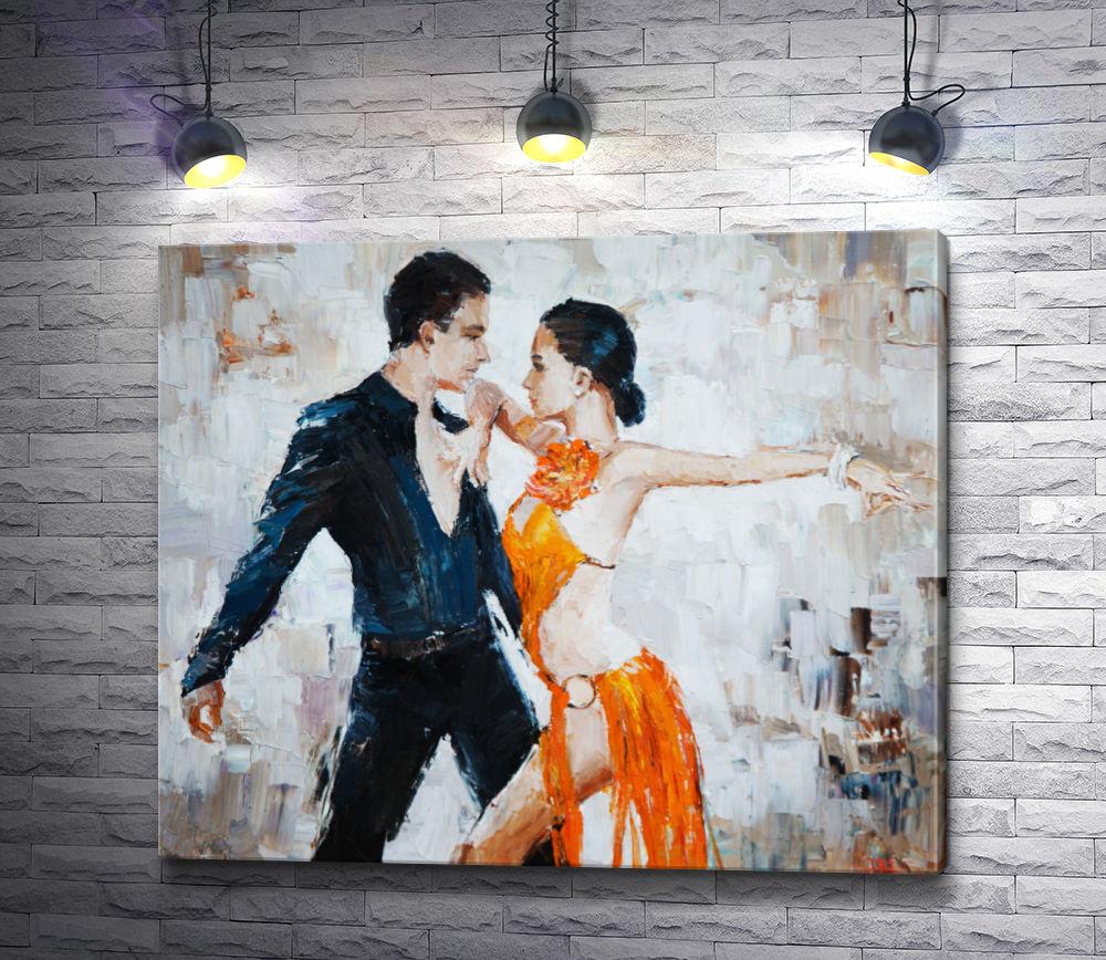 "Картина ""Танцоры танго"""