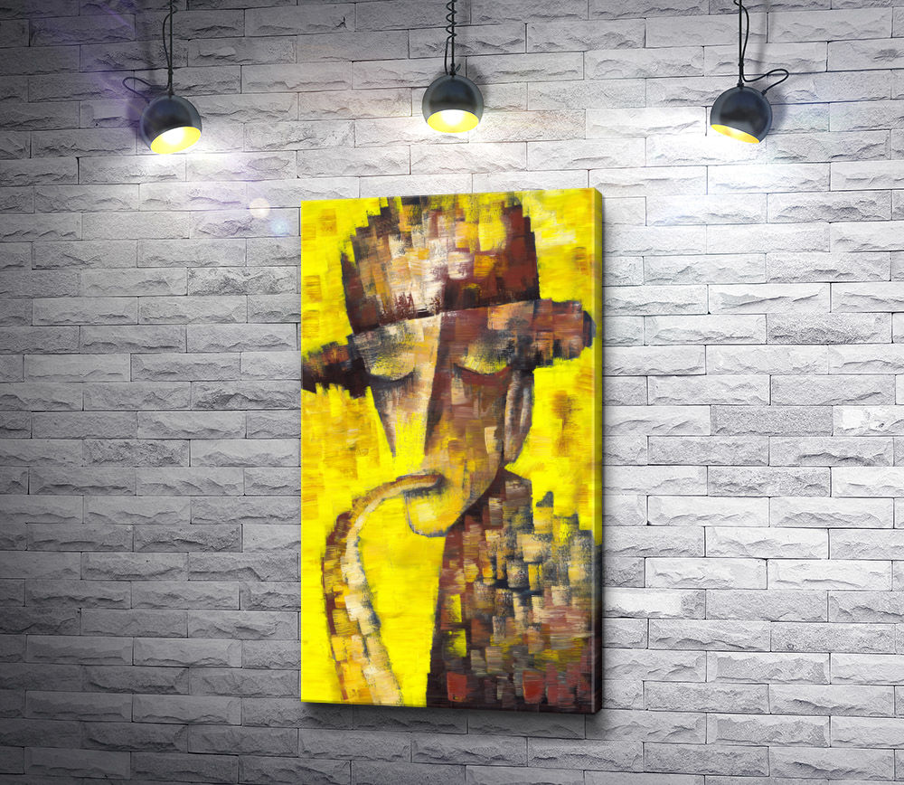 "Картина ""Мужчина с саксофоном"""